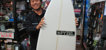 PYZELサーフボードNEWモデル紹介!