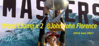 John John Florence  2Xワールドタイトル獲得キャンペーンを明日20日から開催!!