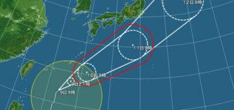 台風&CTが気になる土曜日!