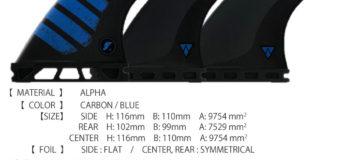 フューチャー2019モデル「ALPHA F6 5FIN」& 「DA KEEL TWIN」入荷しました。