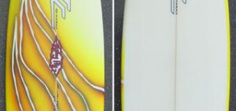 中古サーフボード UB-0166 3Dimension サーフボード 5'11″ x 18,7 x 2.25