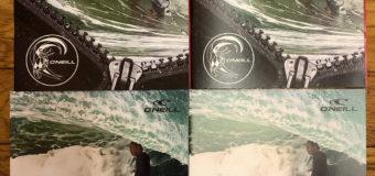 オニールウエットスーツ2020 Spring&Summer新作カタログ届きました。