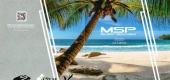 M.S.Pサーフボード2020カタログ届きました。
