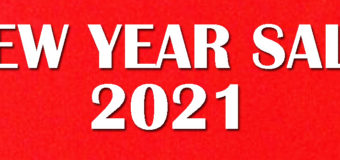 2021 NEW YEAR SALE開催中です!